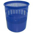 Cestino gettacarte 12lt blu traforato 4119 arda - Z01038