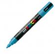 Marcatore uni posca pc5m azzurro p. media - Z01175