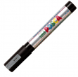 Marcatore uni posca pc5m argento p. media - Z01185