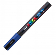 Marcatore uni posca pc3m blu p. fine - Z01196