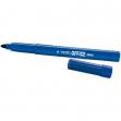 Scatola 12 pennarelli tratto office maxi blu - Z01266
