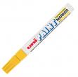 Marcatore uni paint px20 giallo p. media a vernice - Z01324