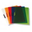 Cartellina con molla clipper rosso trasp. art.f007 leonardi - Z01365