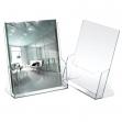 Portadepliant in polistirolo trasparente 23x25,5x3cm art.5021 - Z01407