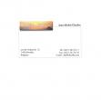 Taschetta 15fg da 10 biglietti visita bianco 200gr squadrati bordo liscio - Z01486