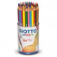 Barattolo 84 pastelli giotto laccato fsc - Z01612
