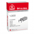 Scatola 1000 punti €stapless 64 global (6/4) ro-ma - Z01777