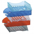 Vaschetta portacorrispondenza e040 blu trasparente modula leonardi - Z01795
