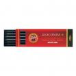 Astuccio 6 mine 5.6mm 4b grafite koh-i-noor - Z01960