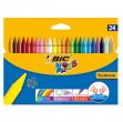 Astuccio 24 pastelli kids plastidecor bic - Z01991