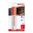 Marcatore edding 4090 rosso p.scalpello - gesso liquido - Z02148
