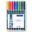 Busta 8 pennarelli lumocolor permanent 317 m 1.0mm - Z02223