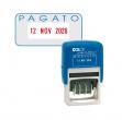 Timbro datario + pagato s260/l2 autoinchiostrante colop - Z02239