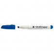 Pennarello a secco tratto memo puntascalpello blu per lavagna - Z02505