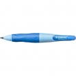 Portamine stabilo® easyergo 3,15mm azzurro per destrorsi + affilamine - Z02541
