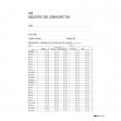 Registro iva corrispettivi 31x24,5 15pag. numerate e2103 - Z02583
