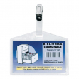 100 portanome pass 3p 9,5x6cm c/clip in metallo s/cartoncino sei rota - Z02903