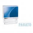 """Timbro printer 20/l0126 """"pagato"""" 14x38mm colop - Z02986"""