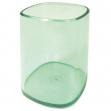Portapenne bicchiere trasparente verde arda - Z02989