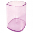 Portapenne bicchiere trasparente viola arda - Z02990