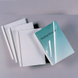 50 cartelline termiche 35mm silk white 150mic - Z03171