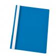 Cartellina ppl con fermafogli 21x29,7 azzurro report file esselte - Z03302