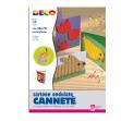 10fg cartoncino ondulato 50x70cm giallo art 2206/4 cwr - Z03310