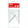 Coppia squadra profil alluminio 12cm 45° 60° arda - Z03328