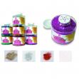 Barattolo glitter grana fine ml150 bianco/iride art 130/100 cwr - Z03337