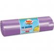 10 sacchi immondizia 70x110cm 120lt hd 16µ viola logex - Z03527
