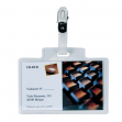 100 portanome pass 3m 9,5x6cm c/clip in metallo s/cartoncino sei rota - Z03700