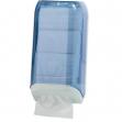 Dispenser carta igienica in fogli trasparente/bianco mar plast - Z03830