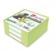 Box colorato c/foglietti carta 100 riciclata 10x10x5cm cwr - Z03953