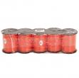 Rocca nastro splendene 10mmx250mt arancio 31 bolis - Z04132