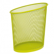Cestino 18lt mesh verde in rete metallica alba - Z04414