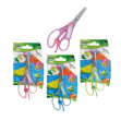 Forbici snippy personalizzabile 13cm punta tonda colori ass. art.4445b - Z04456