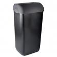 Coperchio per cestino gettacarte 23lt black soft touch - Z04512