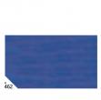 Busta 26fogli 50x70cm carta velina gr31 blu sadoch - Z04607