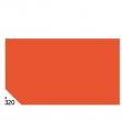 Busta 26fogli 50x70cm carta velina gr31 arancio sadoch - Z04616