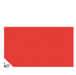 Busta 26fogli 50x70cm carta velina gr31 rosso sadoch - Z04617