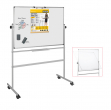 Lavagna magnetica girevole professional 100x150cm bi-office - Z04656