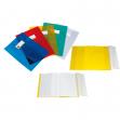 Coprimaxi ppl liscio trasparente giallo c/alette e portaetichetta sei rota - Z04691