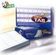 Scatola 6000 etichette adesive tab1-1002 100x23,5mm corsia singola tico - Z04750