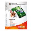 100 pouches 60x90mm 125my business card titanium - Z04875