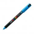 Marcatore uni posca pen pc1m azzurro ultra fine - Z05067