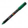Marcatore uni posca pen pc1m verde ultra fine - Z05073