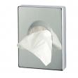 Dispenser per sacchetti igienici in abs cromato - Z05208