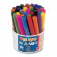 Secchiello 36 pennarelli jumbo superlavabili primo - Z05216