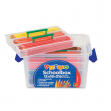Schoolbox 216 pastelli colorati 100 fsc in 12 colori primo - Z05227