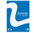 Fogli protocollo A4 60gr 20fg 4mm bm - Z05258